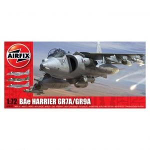 Kit aeromodele Airfix 4050 Avion BAe Harrier GR7A/GR9A Scara 1:72