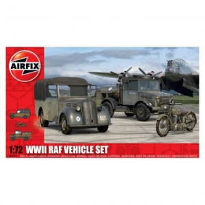 Kit automodele Airfix 3311 WWII RAF Vehicle Set Scara 1:72