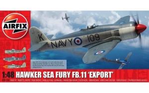 Kit constructie Airfix avion Hawker Sea Fury FB 11 Export Edition 1 48