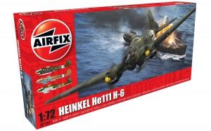Kit constructie Airfix avion Heinkel He III H-6