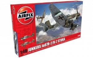 Kit constructie Airfix avion Junkers Ju87R-2/B-2 Stuka 1:48