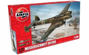 Kit constructie Airfix avion Messerschmitt Bf110C/D