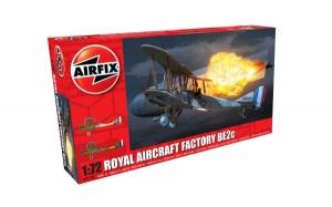 Kit constructie Airfix avion Royal Aircraft Factory BE2c Night Fighter