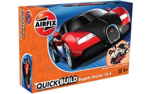 KIT CONSTRUCTIE AIRFIX BUGATTI VEYRON BLACK & RED