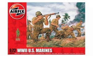 Kit constructie Airfix soldati WWII U.S. Marines 1:72