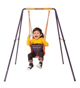 Leagan pentru bebelusi si copii mici MVS pentru exterior din metal