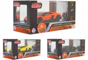 Masinuta Lamborghini Aventador toate functiile cu telecomanda si licenta scara 1:24