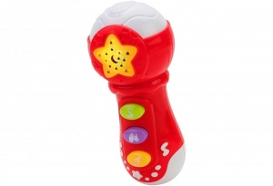 Microfon Globo cu muzica si lumini