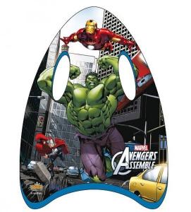 Mini placa pentru inot 45 cm Saica Avengers pentru copii din spuma