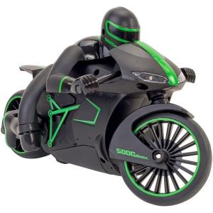 Motocicleta cu radiocomanda si lumini scara 1:16 Globo