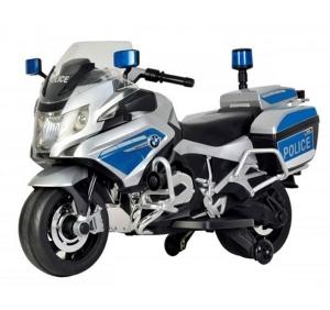 Motocicleta electrica BMW R1200RT Politie cu sunete si lumini pentru copii