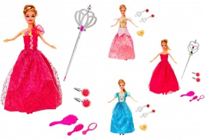 Papusa Donna cu sceptru si accesorii Globo
