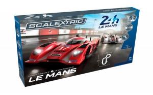 Pista masinute Le Mans Scalextric 5m traseu masinute Le Mans Prototype 17 si 21