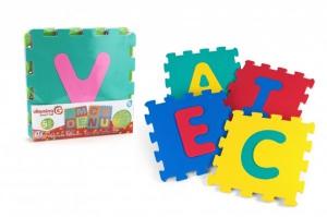 Puzzle burete pentru copii Globo Vitamina G Litere 5 bucati