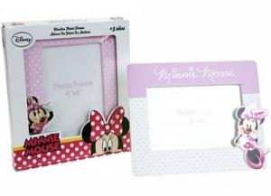 Rama foto roz cu licenta Minnie Mouse