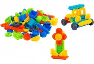 Set 100 cuburi multicolore de construit PIKO