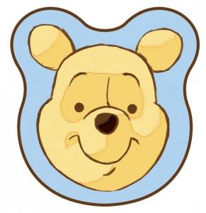 Set 2 parasolare auto cu licenta pentru copii Eurasia Winnie the Pooh