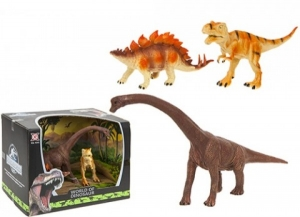 Set 3 figurine dinozauri plastic