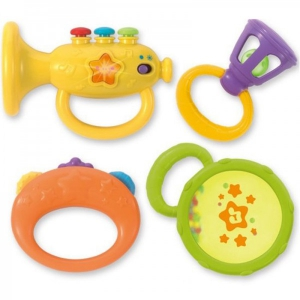 Set 4 zornaitori bebelusi Winfun Instrumente muzicale