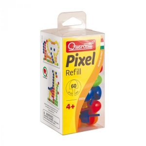 Set 60 butoni de rezerva pentru tablita mozaic Quercetti Pixel Junior