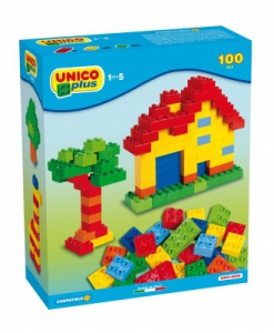Set constructie Unico Plus 100 piese
