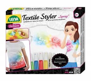 Set creatie modele pentru textile sprayuri cu pulverizare