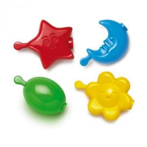 Set creativ pentru copii Colier Maxi Star Quercetti 21 piese
