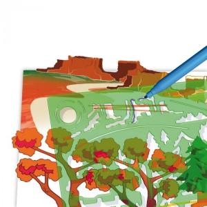 Set creativ pentru copii Forme Peisaje Quercetti