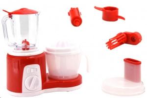 Set de plastic compus din blender mixer si storcator de fructe cu 2 viteze