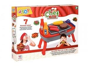 Set pentru copii Barbeque cu 7 accesorii