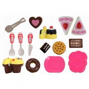 Set prajituri Globo cu accesorii cu velcro