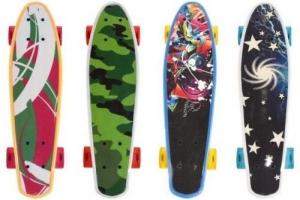Skateboard cu led pentru copii 56 cm 50 kg Globo