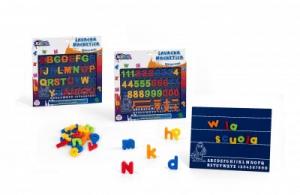 Tablita magnetica cu litere sau cifre KiDEA