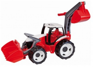 Tractor cu excavator si cupa Gigant plastic 102 cm