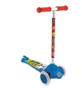 Trotineta copii Mondo 3 roti Twist and Roll Paw Patrol