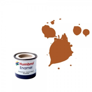 Vopsea modelism Humbrol 0103 Email Numar 9 Tan Gloss 14 ml
