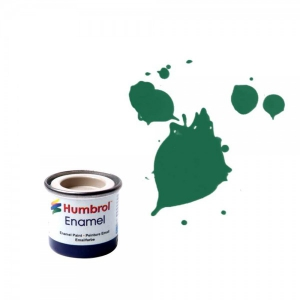 Vopsea modelism Humbrol 0326 Email Numar 30 Dark Green Matt 14 ml