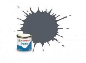 Vopsea modelism Humbrol 1376 Email Numar 125 US Dark Grey Satin 14 ml