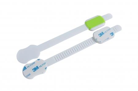 SET 10 protectii flexibile si ajustabile pentru usi si sertare verde, 23 cm1