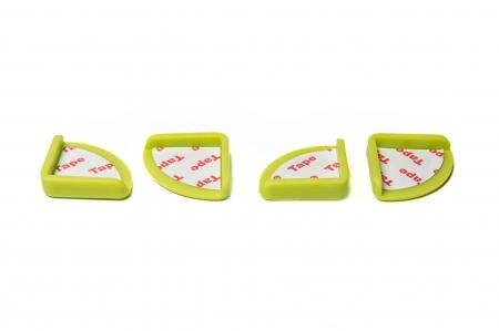 SET 4 bucati aparatoare colturi, 3.0x3.0x0.8 cm0