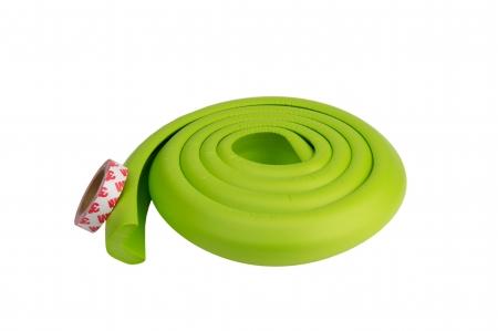 Banda protectie groasa verde pentru muchii si margini 3.5x1.2x200 cm