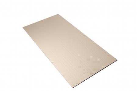 Covoras moale de protectie impotriva loviturilor crem, 120x60x1.0 cm