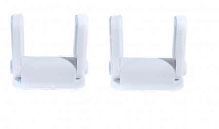 SET 2 blocatoare pentru clanta usa alb3