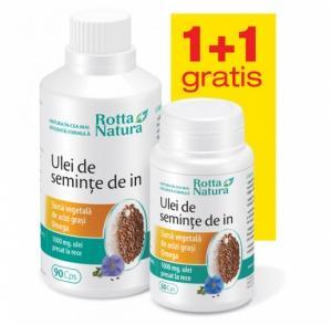 Ulei De Seminte De In 90+30 cps Rotta Natura