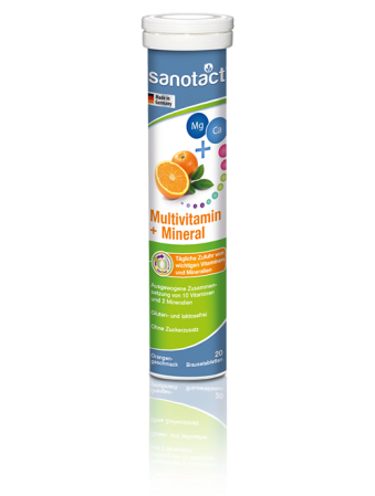 Sanotact Multivitamine+Minerale tab. eferv.  Sanotact