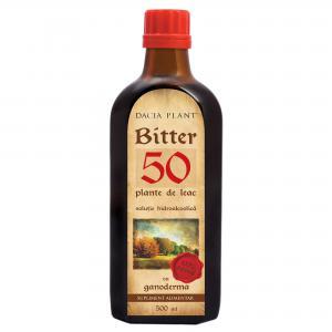 Bitter 50 Plante de Leac cu Ganoderma 500 ml Dacia Plant