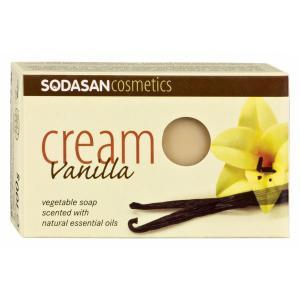 Sapun Crema Ecologic Cu Vanilie 100 g Sodasan