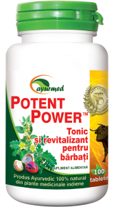 Potent Power Tonic si Revitalizant Barbati 50 tb Ayurmed