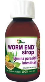 Worm End Paraziti Intestinali Sirop 100 ml Ayurmed