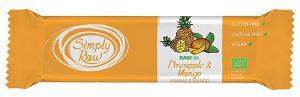 Baton Raw Ba Cu Ananas Si Mango Bio 40 g Simply Raw